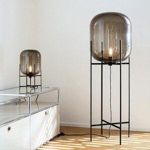 Image 4 - Post modern Nordic simplicity Floor Lamps LED lights vloerlamp stand lamp standing lamp Living room Bedroom Restaurant