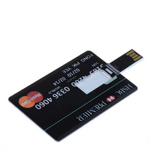 8GB Cool Credit Card USB 2.0 Flash Drive Disk Memory Stick Storage Device U Disk Mini Flashdrive Christmas Gift VCH69 T0.16