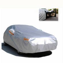 Универсальный седан СВУ автомобильных крышка Полный Размеры Водонепроницаемый двойной Слои Дождь Снег УФ пыли Защитный открытый автомобиль ткани PEVA