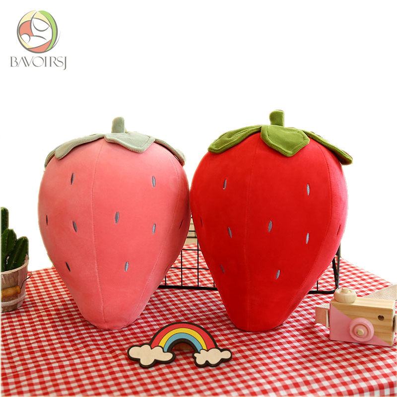 Fruit Sunflower Food Plush Toy For Kids Girls Baby Toy Stuffed Cotton Strawberry Sleeping Pillow Plush Toy T0218