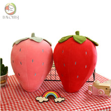 Fruit Sunflower Food Plush Toy for Kids Girls Baby Toy Stuffed Cotton Strawberry Sleeping Pillow Plush Toy T0218(China)