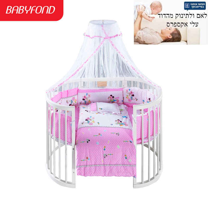 Export Brand Bed Hardwood Baby Bed Children Hardwood Bed Newborn Baby Bed, Baby Chair and Table, Change 9 Forms at will, цена