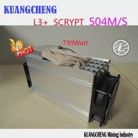 KUANGCHENG ANT MINER L3 LTC Miner 504M Scrypt Miner Litecoin Mining Machine On Wall Better Than