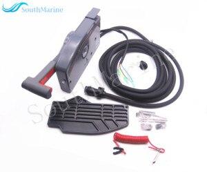 Подвесной пульт дистанционного управления для лодочного двигателя Yamaha 703, 703-48205-15-00, 703-48207-11-00, 703-48205-14-00 , 10 контактов, левая рука