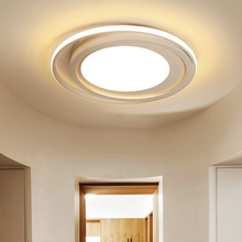 Modern nordic romantic minimalist round ceiling light creative lron LED art deco circle lamp fixture for living room bedroom e27 цена