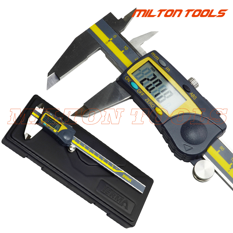 0 150mm Terma brand 6 Digital IP54 Extreme Accuracy vernier caliper ABS Electronic digital Caliper