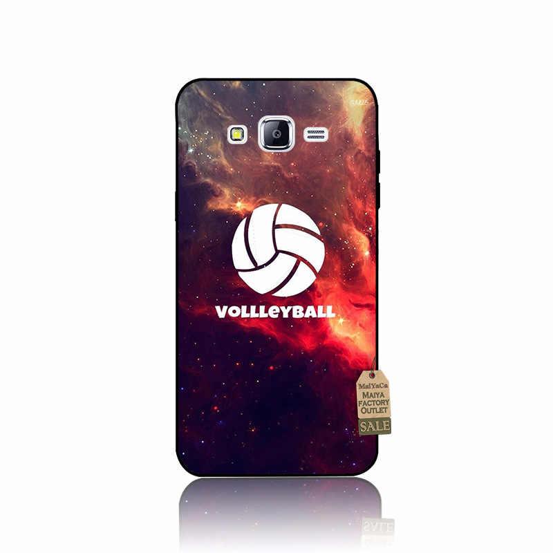 MaiYaCa voleibol deportes DIY pintado hermoso Coque caso de teléfono para Samsung J1 J3 J5 J7 nota 3 Nota 4 Nota 5