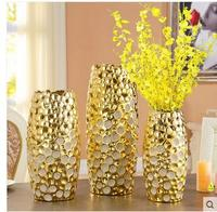 European style ceramic vase is a large floor and dry flowers home decoration living room TV cabinet arranging flower art