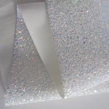 30 см x 134 см белая плотная блестящая ткань искусственная Синтетическая кожа ткань рулон волшебный цвет распиловка банты серьги ремесло CN137