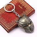 movie UNIVERSE Captain America Civil War PANTHER Keychain Mask Metal Key Chains