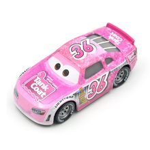 купить Disney Pixar Cars 3 Racing Center Reb Meeker NO.36 Metal Diecast Toy Car 1:55 Loose Brand New In Stock toys for children по цене 259.87 рублей