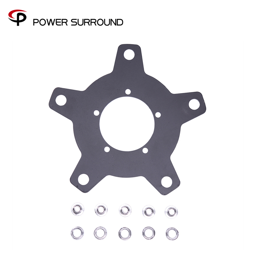 2018 customized BBS 130 BCD chain wheel Spider for 8fun Bafang mid drive BBS01/BBS02 adapter