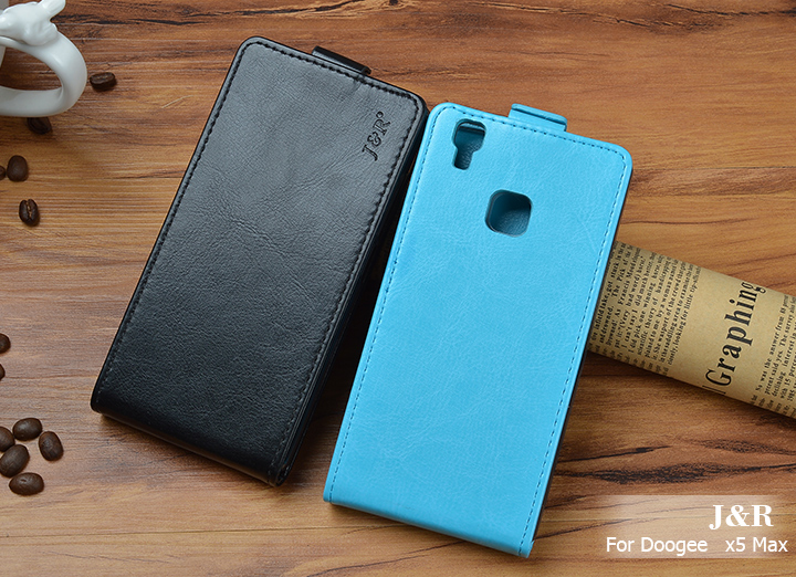 Dla doogee x5 max case wysokiej jakości pu skórzanej oprawie przerzuć w pionie telefon case fundas dla lenovo k6 x5 max uwaga (k53a48) 1
