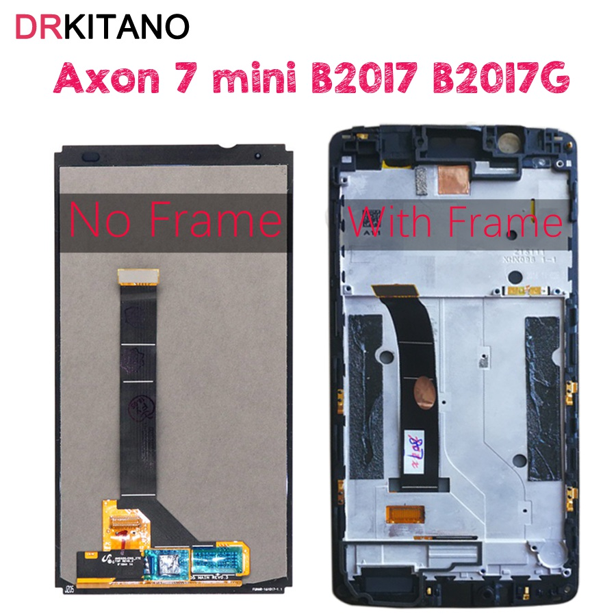 For ZTE Axon 7 mini LCD B2017 B2017G Display Touch Screen Digitizer Aseembly For Axon 7