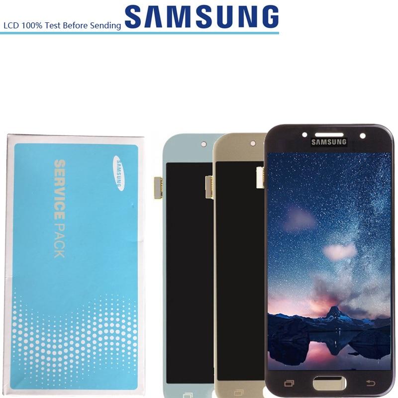 4.7 ''nouvel écran LCD d'origine pour SAMSUNG Galaxy A3 2017 A320M SM-A320F A320 A320F LCD écran tactile numériseur LCD remplacement