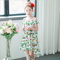 Summer Kids Girls Long Dresses Bohemian Beach Dress 3 4 6 8 10 11 12 Year