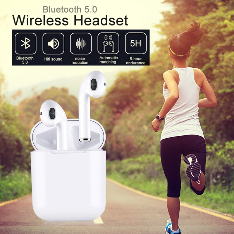 Vtin <font><b>i8s</b></font> <font><b>TWS</b></font> Wireless Bluetooth 5.0 <font><b>Earphones</b></font> Real Stereo Bluetooth Headset Magnetic Suction Support Siri Automatic Pairing image