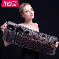 MSQ Высокое качество кисти для макияжа комплект де Pinceis профессиональный набор косметики для бровей Румяна для лица Румяна порошок для губ Те