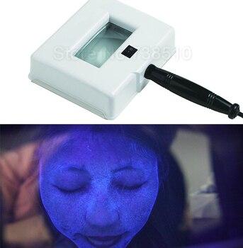 Skin Health Check Care UV Magnifying Analyzer Beauty Facial SPA Salon Equipment Wood Lamps Light Face Machine 110-240V US EU Plu цена 2017