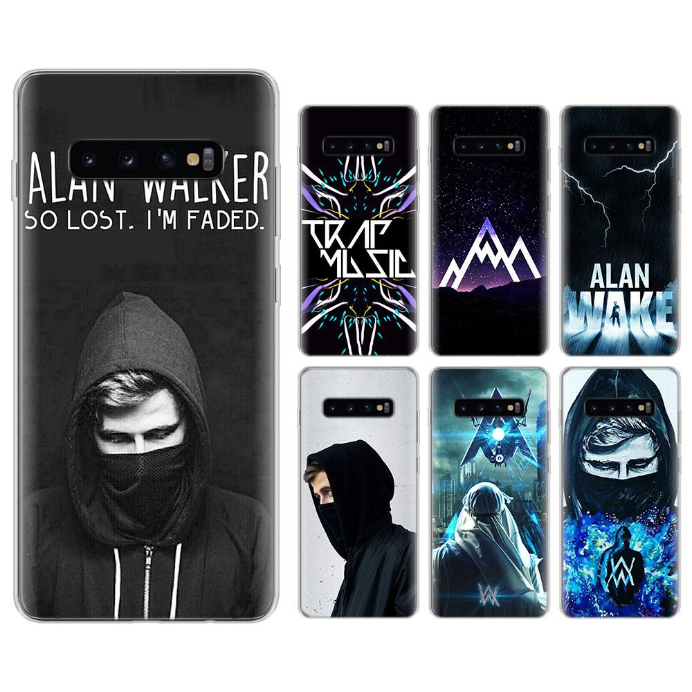Alan Walker DJ Faded Silicone case for Samsung Galaxy S8 S9 S10 Plus S10e  M10 M20 597552b00f2b