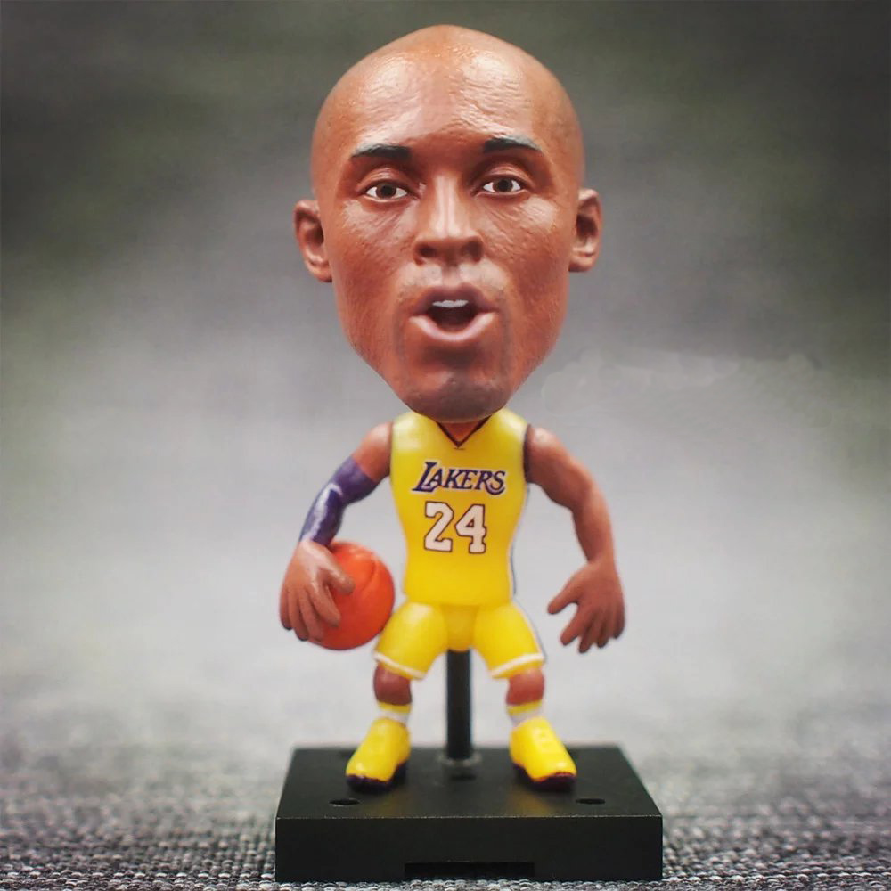 New KODOTO SoccerWe Kobe Bryant movable moving Basketball player star display collection dolls toys ...