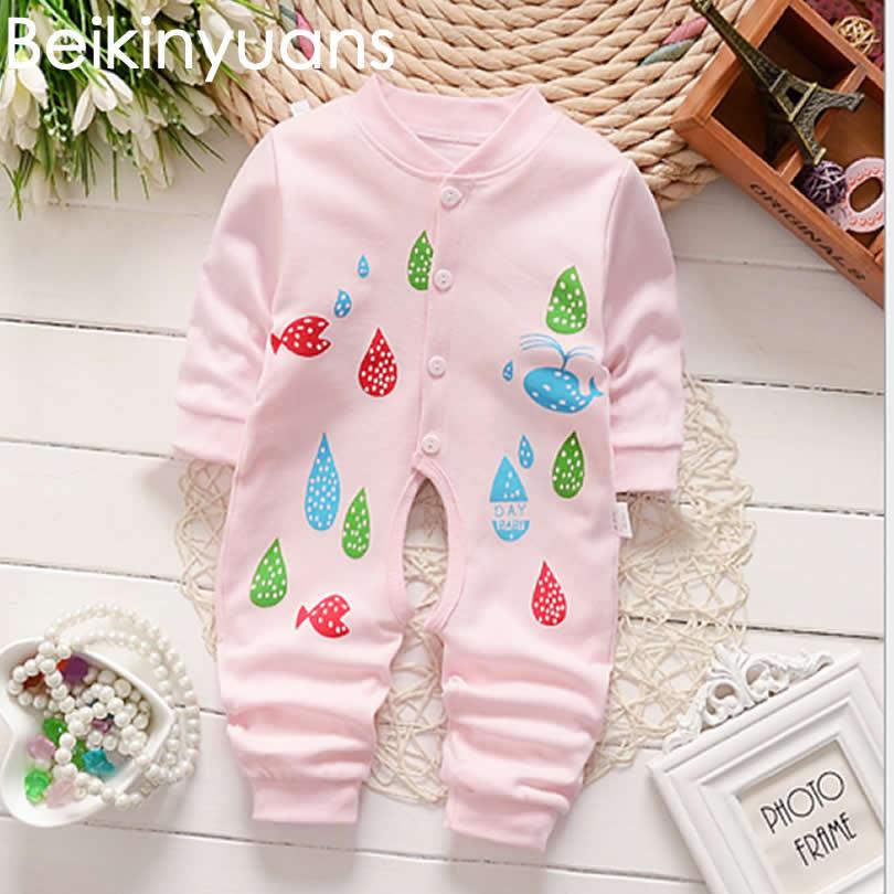44f6752ad Mono de algodón para bebé recién nacido ropa de bebé bonita para niños y  niñas
