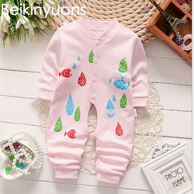 Newborn baby   Romper   Cotton Cute Baby Clothes Infant Toddler Girls Boys Playsuit   Romper   Giraffe Aminal Jumpsuit Climbing Clothes