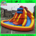 2016 indoor or outdoor commercial grade summer home use inflatable slides with round pool