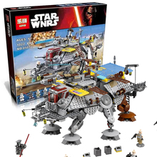 LEPIN STAR WARS Captain Rex's AT-TE Starfighter Death Spaceship War Building Bricks Blocks Set Starwars Chrismas Toys