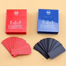 600 Sheets Dental Articulating Paper Strips Dentistry Lab Instrument Oral Care Tools Dentist Material 55*18mm Blue and Red цена 2017