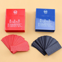 600 Sheets Dental Articulating Paper Strips Dentistry Lab Instrument Oral Care Tools Dentist Material 55*18mm Blue and Red