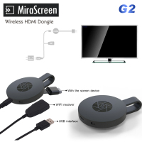 Nuevo mirascreen G2 Sticks para televisión dongle anycast chromecast HDMI WiFi display miracast Google chromecast 2 Mini PC Android TV
