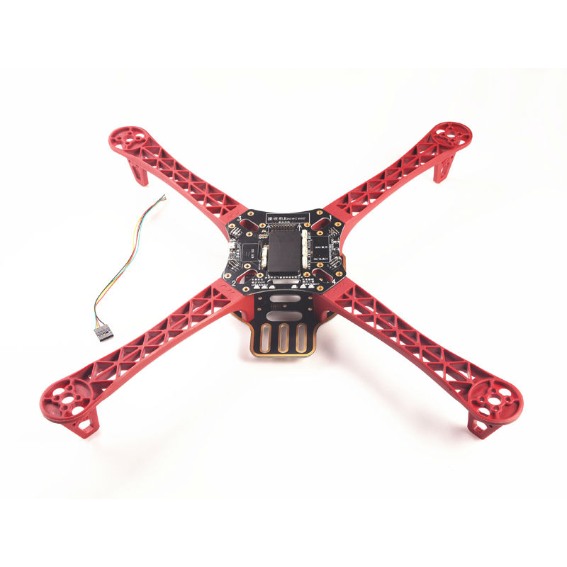 US $29 99 |DJI F450 FrameIntegrated APM 2 8 Flight Control LED Unlocked  Lights with 7m gps m8n gps with osd 3dr power module apm connect-in Parts &