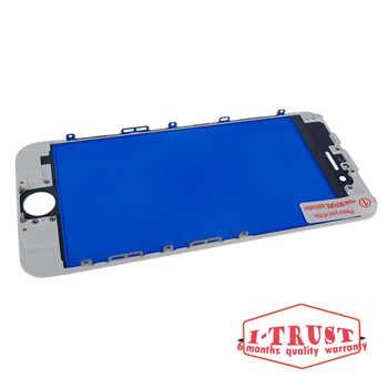 Aaa品質タッチパネル用iphone 6 6グラム6 sまたは7 7グラムフロントガラスタッチスクリーン外側タッチパネルデジタイザー交換でフレーム