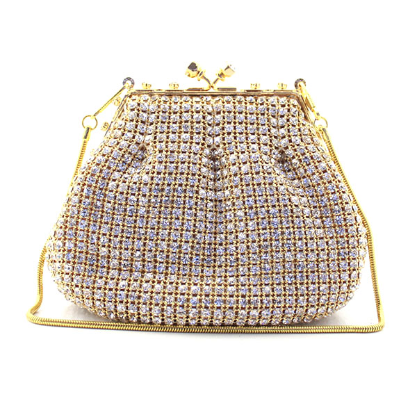 Gold Crystal Clutches Lady Party Bag Women Day Clutch Fashion Metal Box Bags Evening Purse And Handbags(6088-BG) 7748v purple crystal lady fashion bridal metal evening purse clutch bag case box handbag