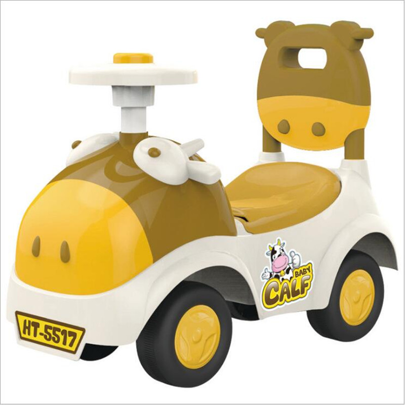 Hot Sale Walker Children Explosion Models 5517 Music Pig Car Toy