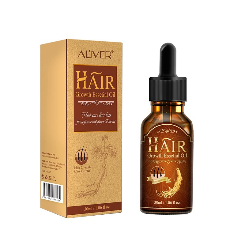ALIVER Men Women Hair Care Hair Loss Products Essence Growth Fast Powerful Repair Root Treatments Serum