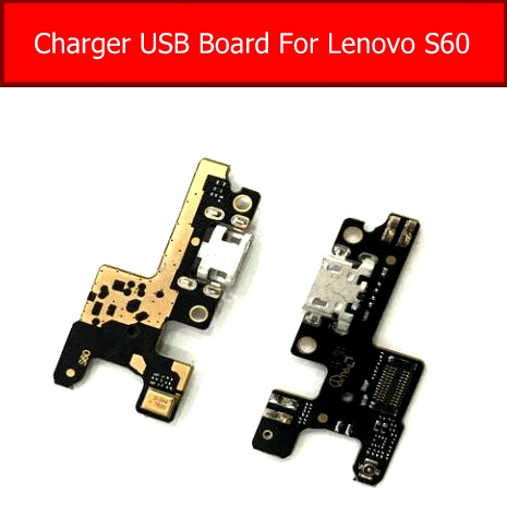 Microphone & USB Charging Board For Lenovo S60 S60W Usb Charger Connector Plug Board Flex Cable Replacement Parts