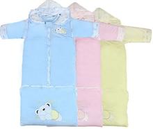 0-4 yearsBaby медведь Dongkuan ребенка спальные мешки удлиняется съемный хранения крышка цилиндра толщиной пижамы М No.