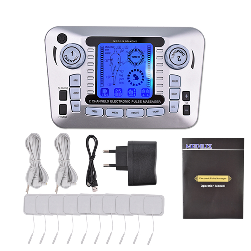 Ems Muscle Stimulator Therapy Massager Pulse Tens Acupuncture Low Frequency Physiotherapy Machine Full Body Relax Fat BurnerEms Muscle Stimulator Therapy Massager Pulse Tens Acupuncture Low Frequency Physiotherapy Machine Full Body Relax Fat Burner