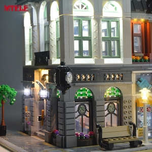 Image 5 - MTELE LED Light Up Kit For Creator Brick Green Bank Lighting Set Compatible With 10251 (Not Include Model)