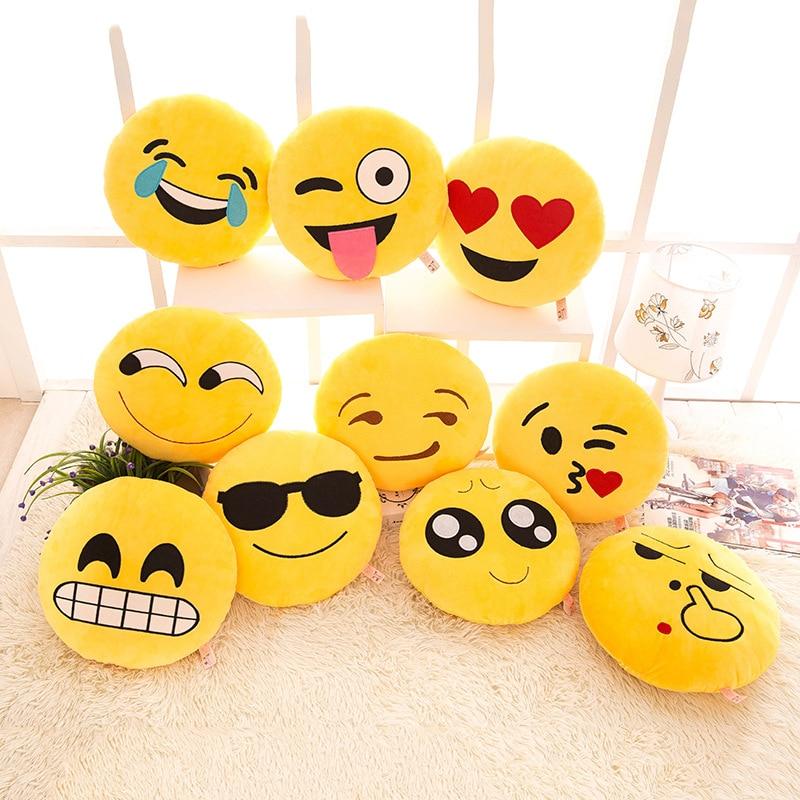 GZTZMY 30*30 cm Emoji Kissen Zimmer Dekorative Kissen Auto Weichen ...