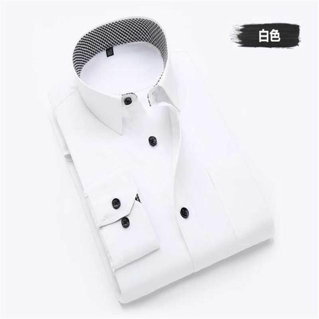 Novo 2015 Linda Listras Patchwork Design Casual Homens Camisa de Manga Longa Turn-down Collar Camisas Dos Homens do Algodão Fino XXL laranja