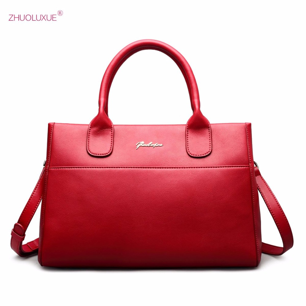 2017 NEW Brand Design Fashion Classic Cow Leather Women Girls Ladies Handbag Shoulder Saffiano Bags