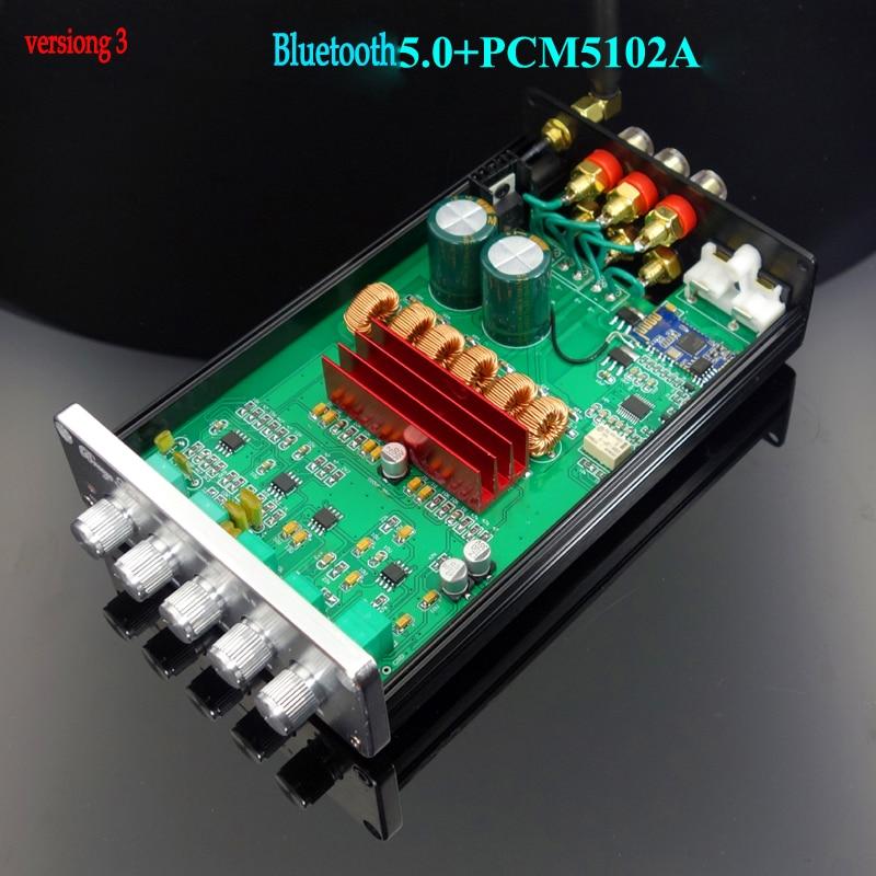 Stereo 2.0 Audio Amplifier Module 15W 15W Dual-channel Mini Amp Board N4A1