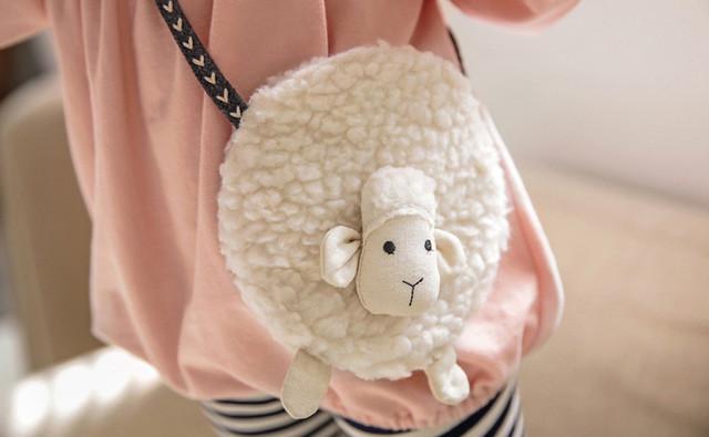 2018 Baby Girls Shoulder Bags Fashion Mini Bag With Deer Shape Women Small Messenger Crossbody Bag dropshipping