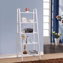 Lifewit 5 Tier multilayer simple bookshelf shelf storage metal miscellaneously rack Newspaper And Magazine Racks bathroom rack