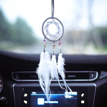 Dream catcher hand made wind bell safe car pendant ornaments dream purely manual hanging