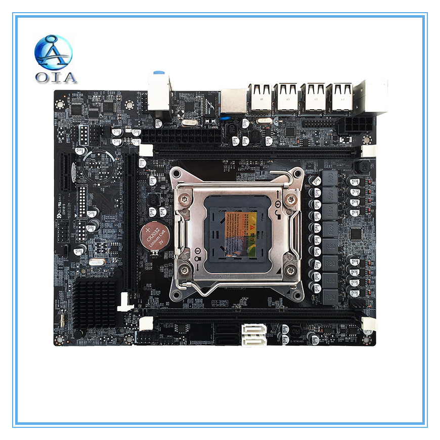 все цены на New motherboard DDR3 X79 LGA 2011 support ECC RAM mainboard M ATX desktop motherboard free shipping