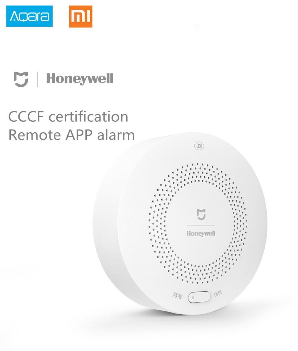 Détecteur d'alarme de gaz Xiaomi Honeywell, Aqara Zigbee télécommande CH4 surveillance plafond et mur installation facile Mijia APP